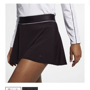 Nike court dri fit tennis skort burgundy medium